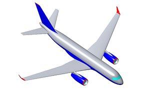 aircraft catia real 3D