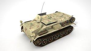 Sd.Kfz 301 Borgward IV 3D model