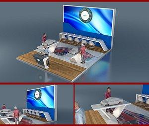 exhibition car 3D model
