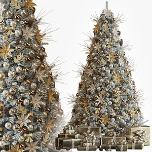 3D tree christmas decor