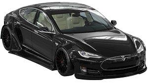 Tesla Model S 3D