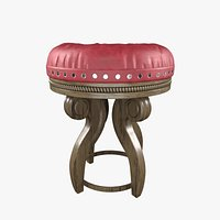 Royale wooden stool