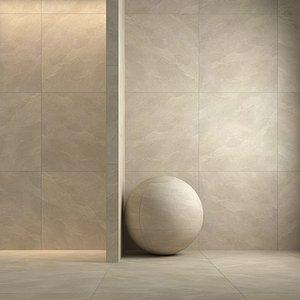 3D panaria zero 3 tiles model