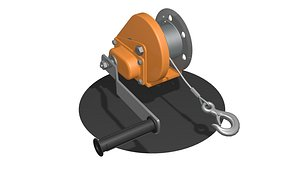 WINCH CAR for SUVs and ATV 3 3D model