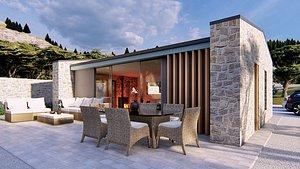 3D bungalow istria