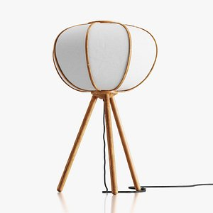 3D model HM Bamboo floor lamp