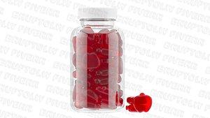 Supplement Apple Cider gummies bottle