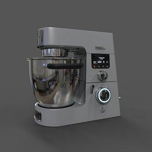 kitchen mixer kenwood cooking 3D model