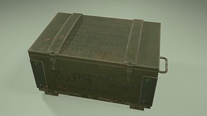 Military box 3D