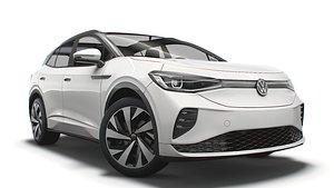 VW ID 4 GTX 2021 3D model