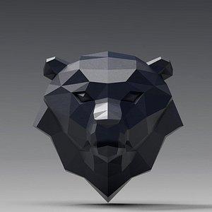 bear head 3D