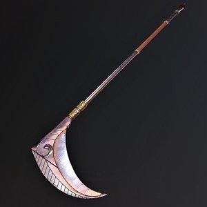 3D model melee weapon