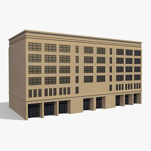 3D Commercial Building 008