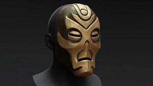 3D Skyrim Dragon Priest Mask - Krosis