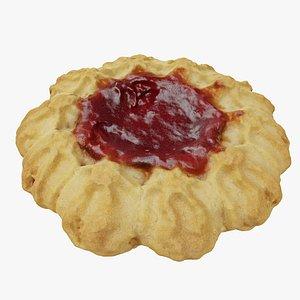 shortbread cookie jam model