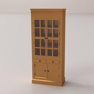 3D model display cabinet