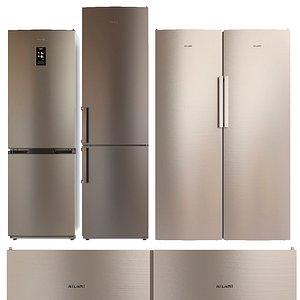 set atlant refrigerator model