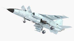 3D model leopard jh-7 jh
