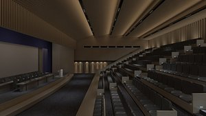 Conference Hall 4 3D model