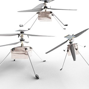3D Ingenuity Helicopter