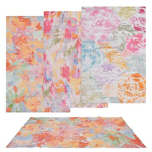 3D Rugs No 207