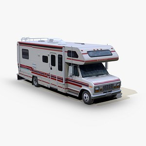 Winnebago Warrior RV 1991 3D model