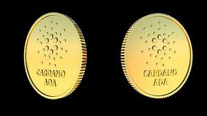 3D Cardano ada crypto