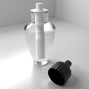 Air Freshener Bulb Unscrew Cap 3D