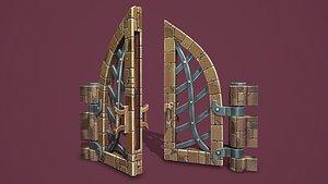 3D model Fantasy door
