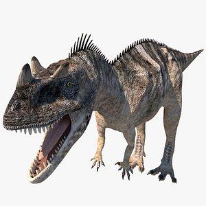 3D dinosaur dino r model