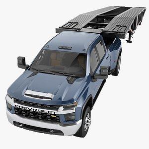 3D Chevrolet Silverado 3500 HD 2021 11