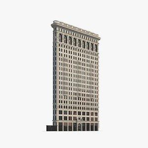 3D Flatiron Building model