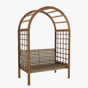 Arbor Chair 3D
