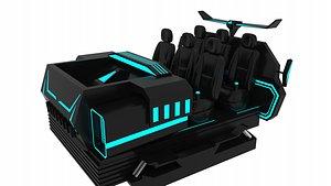 VR Equipment 3D model
