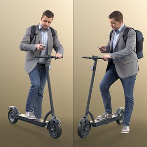 man business scooter 3D