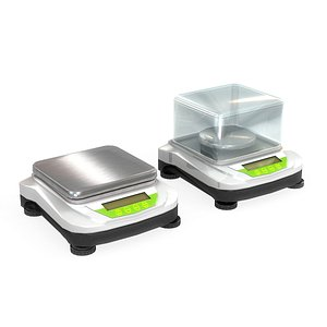 scales lab laboratory 3D model