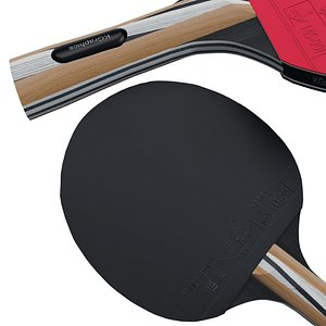 3D tennis paddles