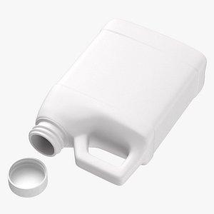 3D Plastic F Style Bottle 16oz 02