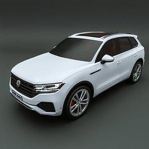 3D model 2021 Volkswagen Touareg
