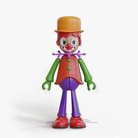 Clown Toy Man