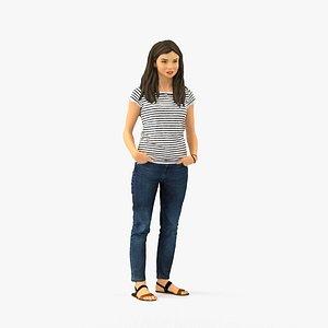 scanned realistic model