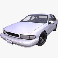 Generic 1990s American Sedan