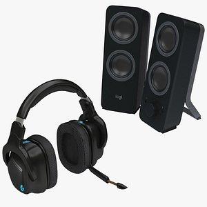 speaker head set model