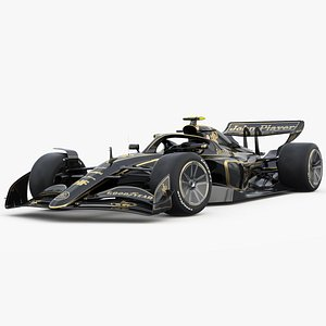 F1 Concept 2021 Jhon player Special 3D model