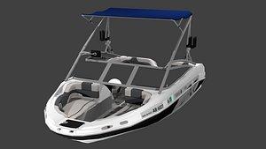 3D Wakeboard Boat - 2008 - 212X - Yamaha