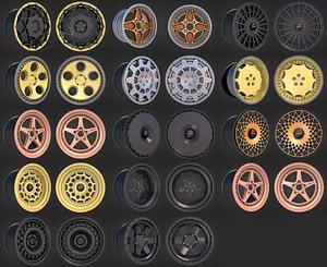 3D Rotiform Wheel rim model