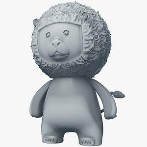 animal beast lion 3D