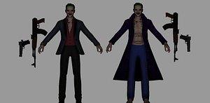 3D joker model