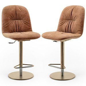 3D Bontempi Chantal swivel barstool