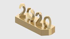 3D souvenir 2020